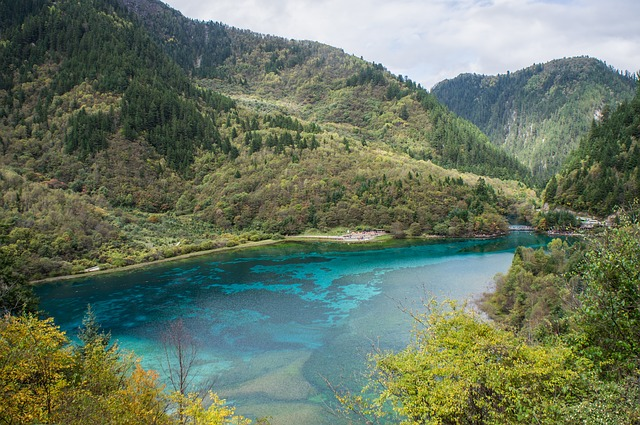 Jiuzhaigou Nationalpark