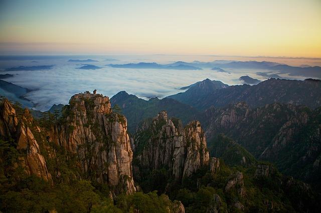 China Gelbe Berge